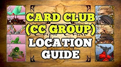 The Card Club (CC Group) all member location guide - Final Fantasy VIII