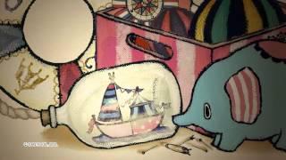 テント小屋の舞台袖で見つけた古いボトルシップから、まだ見ぬ海に想い...