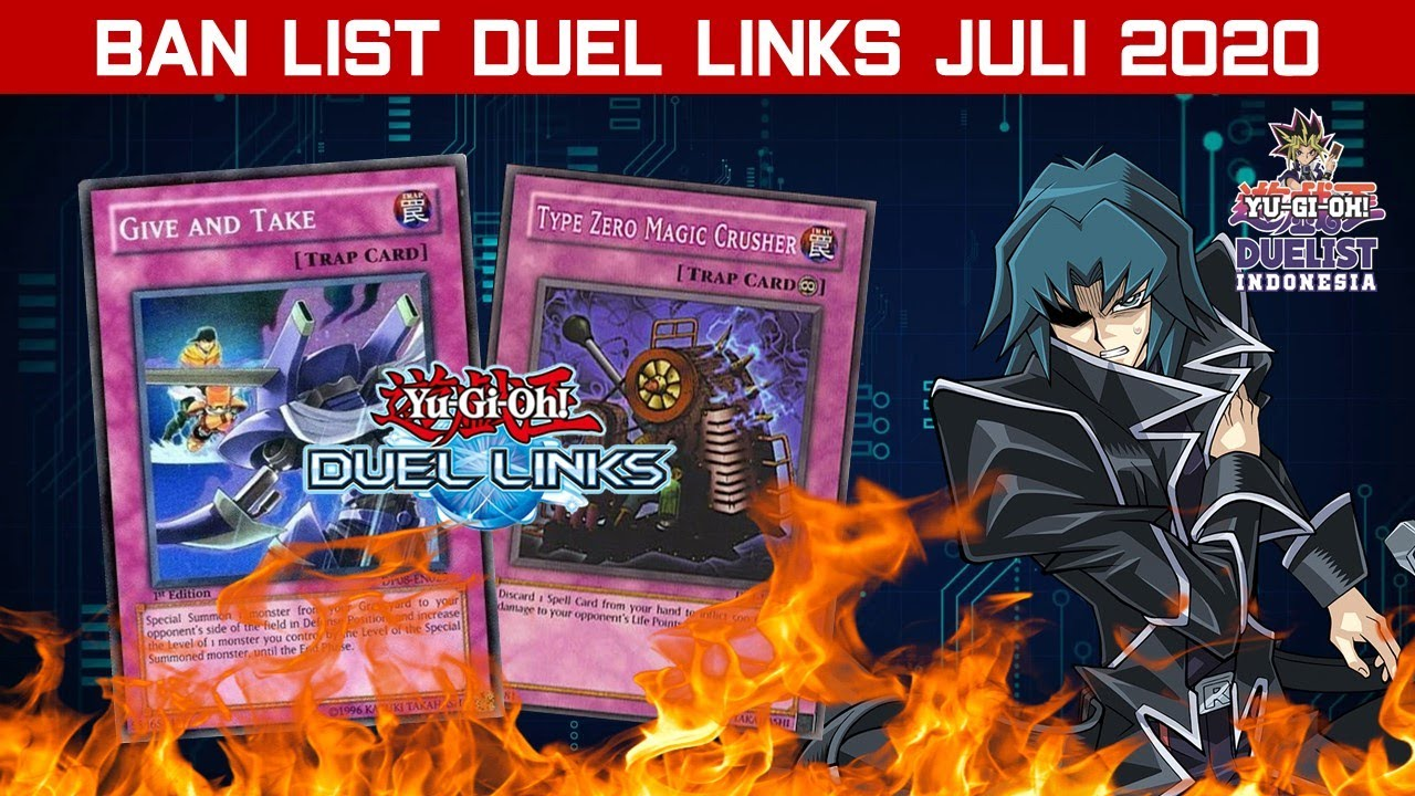 [DUEL LINKS] CYBER DRAGON DICINCANG KONAMI??!! BAHAS BAN LIST DUEL LINKS JULI 2020!!!