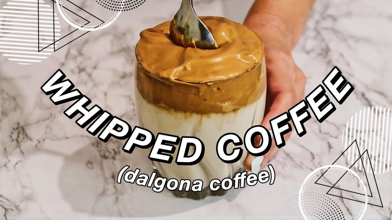 EASY 3 INGREDIENT WHIPPED COFFEE (Dalgona Coffee) — TikTok ...
