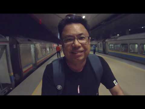 Kuala Lumpur, Butterworth, Bangkok by train. Old information. Get new video at link below.