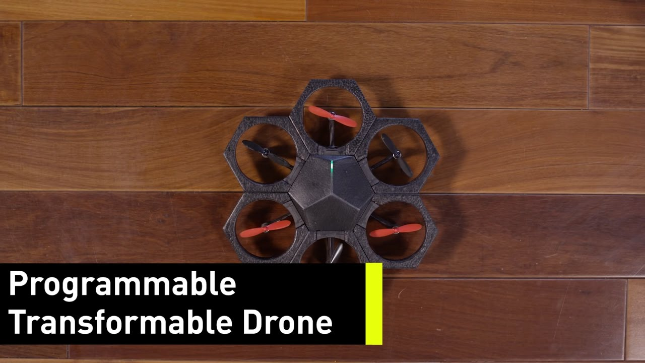 This Build-Your-Own-Drone Kit Is Crash- (and Kid-) Friendly