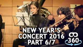 Concert 360º #VirtualReality Classical Music New Year's Concert Part 06 - 07 #360Video #VR