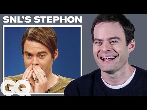 Bill Hader Breaks Down His 9 Most Iconic Roles  GQ