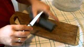 Заточване на ножове за начинаещи.