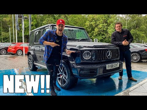 HE BOUGHT A 2019 MERCEDES BENZ G63 AMG!!