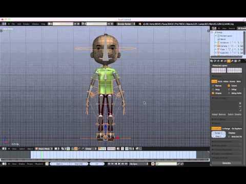 Tutorial Blender Rigger facilement un personnage avec Riggify