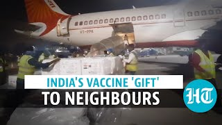 Watch: India sends SII's Covishield vaccines to Mauritius, Seychelles, Myanmar