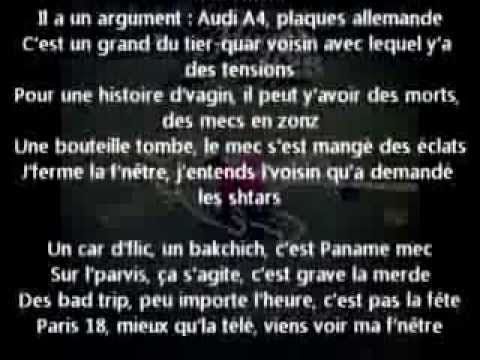 Hugo tsr fen tre sur rue paroles lyrics youtube for Fenetre sur rue hugo