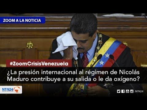 ¿La presión internacional contribuye a la salida de Maduro o le da oxígeno?
