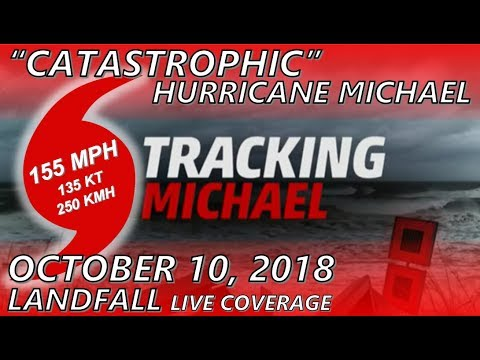 Weather Channel: Hurricane Michael Landfall [2018]