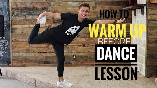 Warm up exercises for Ballroom Dancers.