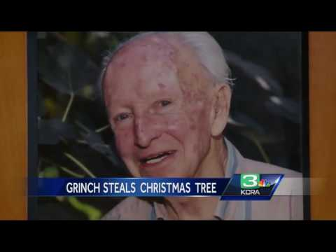 Grinch steals Placerville store's Christmas tree