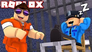 THE GUARD SLEEPS, LET'S ESCAPE! -ROBLOX Escape The Prison * Obby Wednesday with ComKean