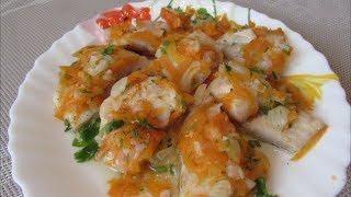 Диетическая рыба с овощами
