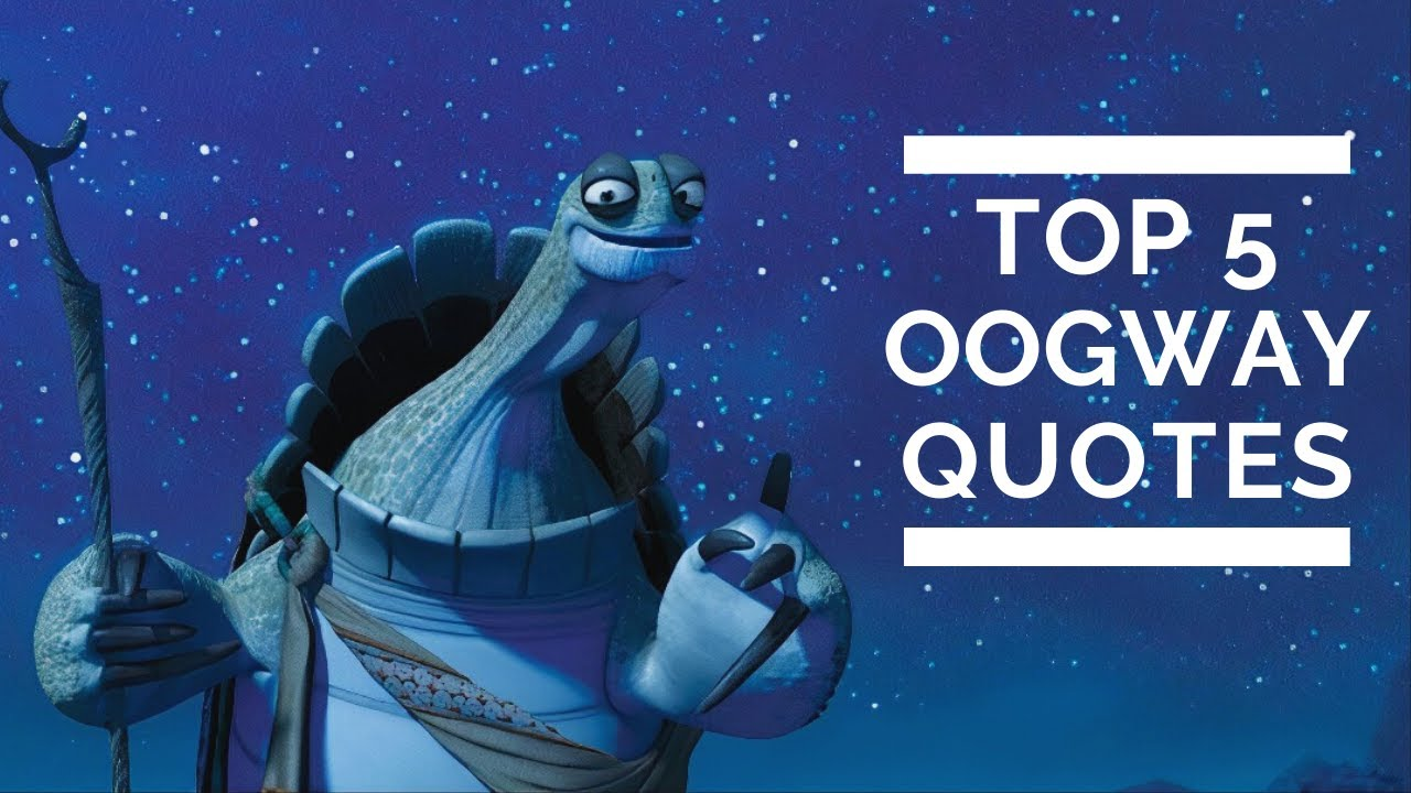 Top 5 Quotes Of Master Oogway Kung Fu Panda Youtube