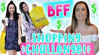 Best Friends Buy My Outfits! Forever 21 Shopping Challenge!!