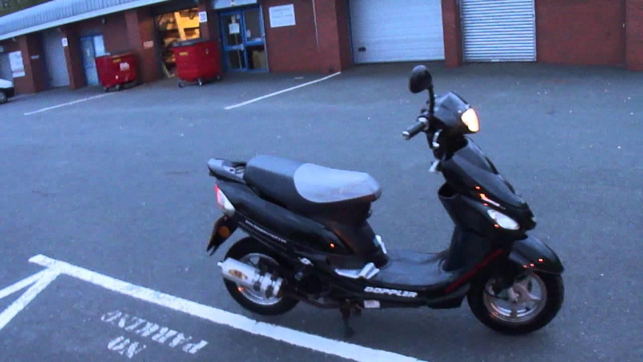 2009 btm baotian bt49qt 9 50 scooter moped ped tax mot ride away 6k miles gc youtube. Black Bedroom Furniture Sets. Home Design Ideas