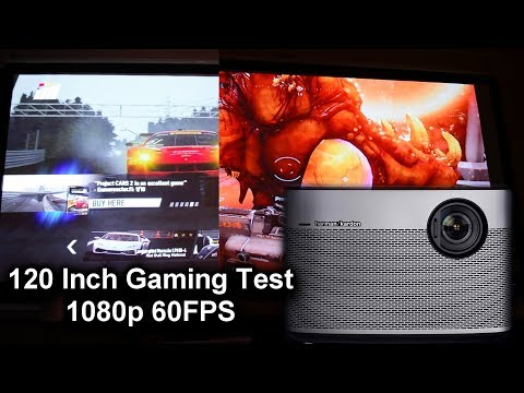 Xgimi H1 Projector 1080p Gaming Test High Settings - One Month Later