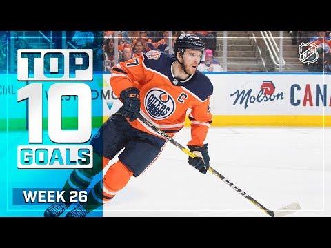 Top 10 Goals from Week 26