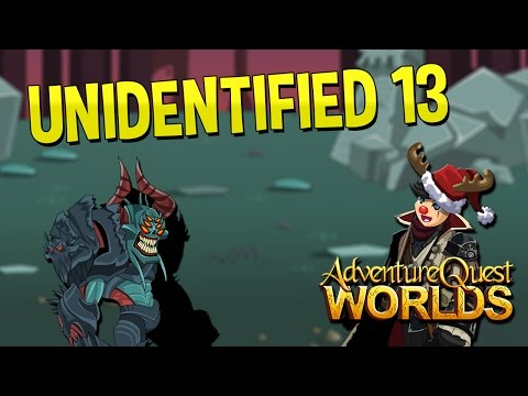 How to get Unidentified 13 AQW 2016