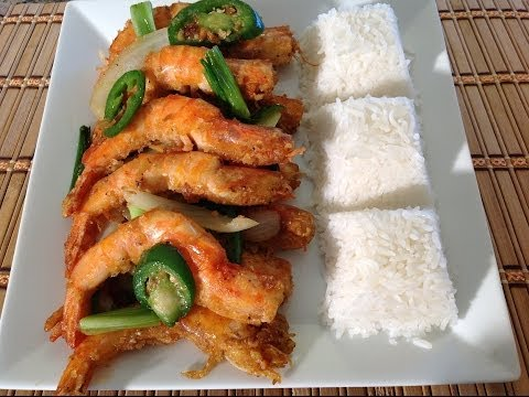 Tom Rang Muoi-How To Make Spicy Salt And Pepper Shrimp-Asian Seafood Recipes