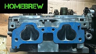 SOHC EJ257 Hybrid Build Part 6 - Head Porting / Reconditioning