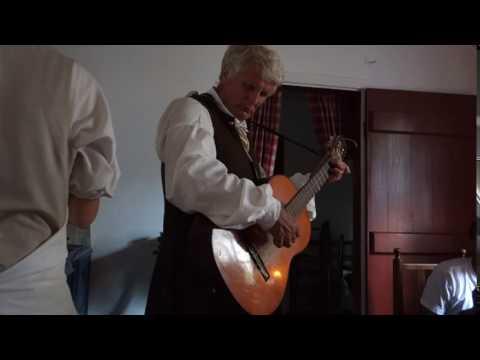 Guitar Music and Shields tavern Colonial Williamaburg