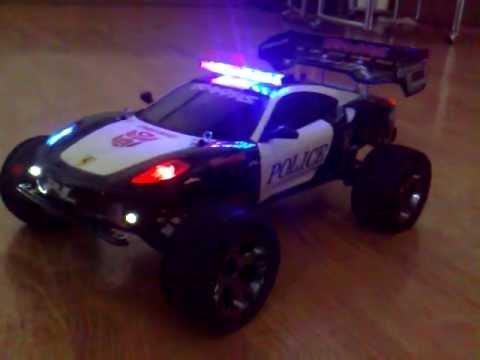 Police Led Lights >> Traxxas rustler vxl update - YouTube