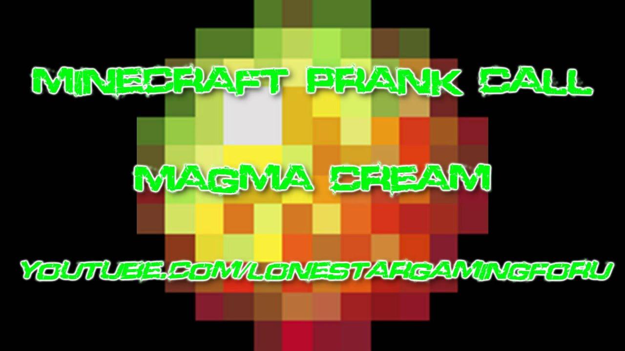how to make magma cream