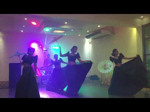 Hiru Mal Kiniththak.  Sanza Dancing Troupe