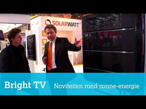 Innovaties rond zonne-energie: modulaire thuisaccu en panelen op maat