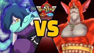 3 VENOCT vs RUBEUS J CHALLENGE in Yo-kai Watch Blasters (Theme Team)
