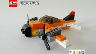 สอนต่อเลโก้ ต่อเครื่องบินเลโก้ แบบที่1 (วิดีโอรีวิวของเล่น)