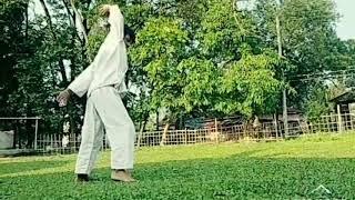 Martial arts video...Ayan Hazarika