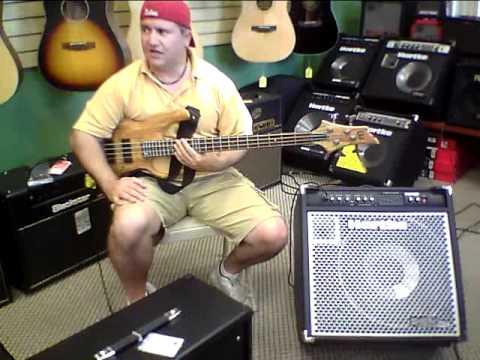 Bass Guitar Demo in 'Z Music Store'  Palm Coast Florida