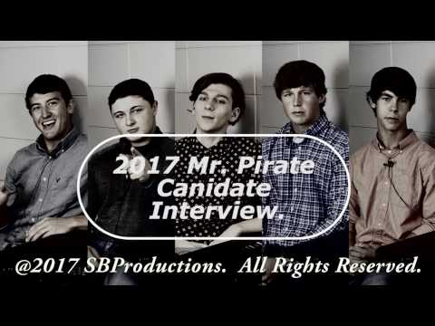 2017 Appling County High School Mister Pirate Candidate Interview