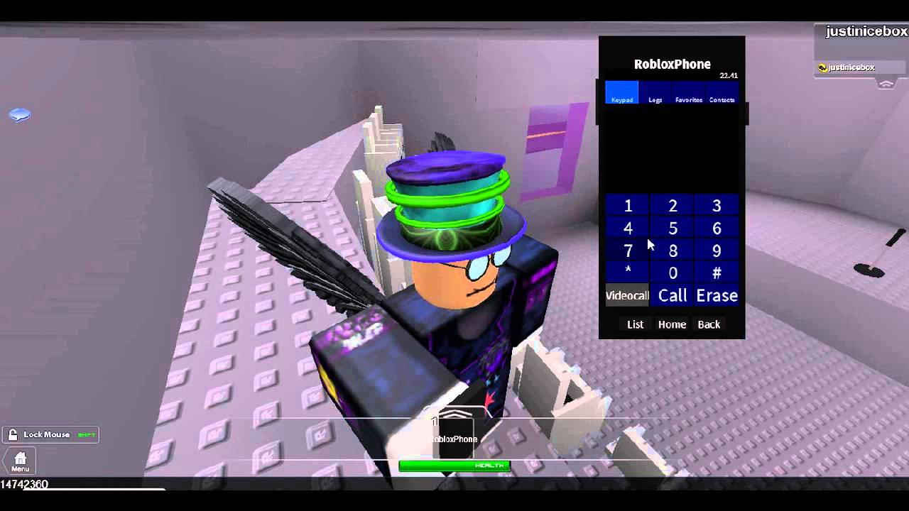 How to insert the roblox phone into your games - YouTube