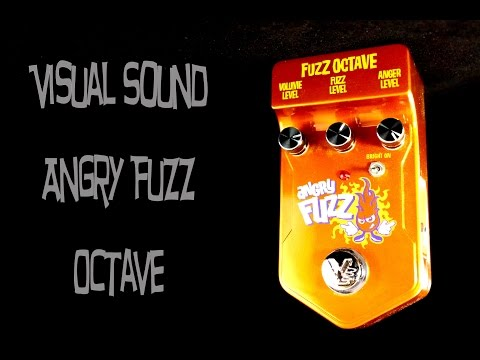 Visual Sound Angry Fuzz Octave Pedal