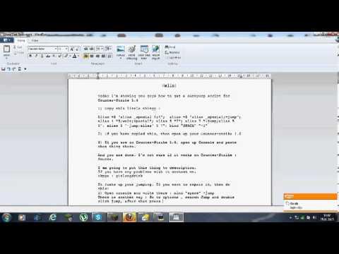 How To Get BunnyHop Script For CS 1.6 ( No Downloading )