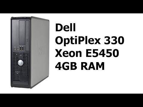 Dell Optiplex 330 + Xeon E5450 - Лучший бюджетный сервер