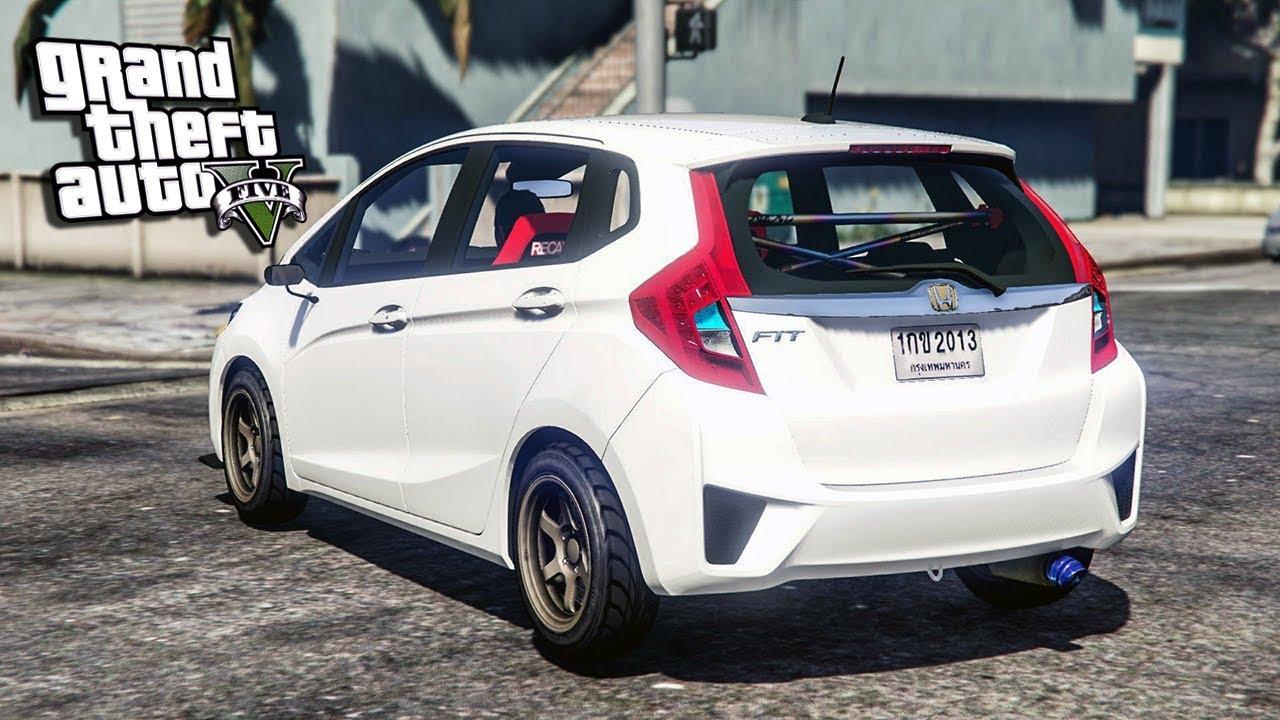 ARG - รถเก๋งแต่งซิ่ง ฮอนด้า แจ๊ส จีเค ( Honda jazz gk 2014 ...