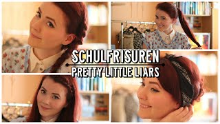 Einfache Frisuren für die Schule I inspired by Pretty Little Liars I #FallinLove Thumbnail