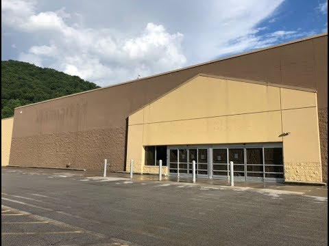 Abandoned/Closed Walmart Super Center In Kimball WV (McDowell County)