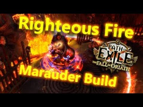 Path Of Exile Marauder   Fire Build