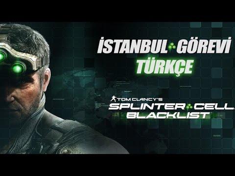 Splinter Cell Blacklist Türkçe (İstanbul Görevi - Fish Market)