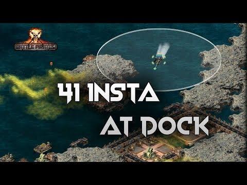 Battle pirates Zeos Gamble 41 target insta dock with 3 Iranclad