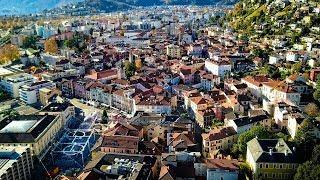 Drone Views of Switzerland in 4k: Tegna, Verscio & Locarno