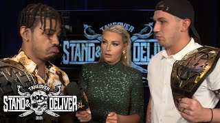 MSK loving life as NXT Tag Team Champions: NXT TakeOver Stand \u0026 Deliver (WWE Network Exclusive)