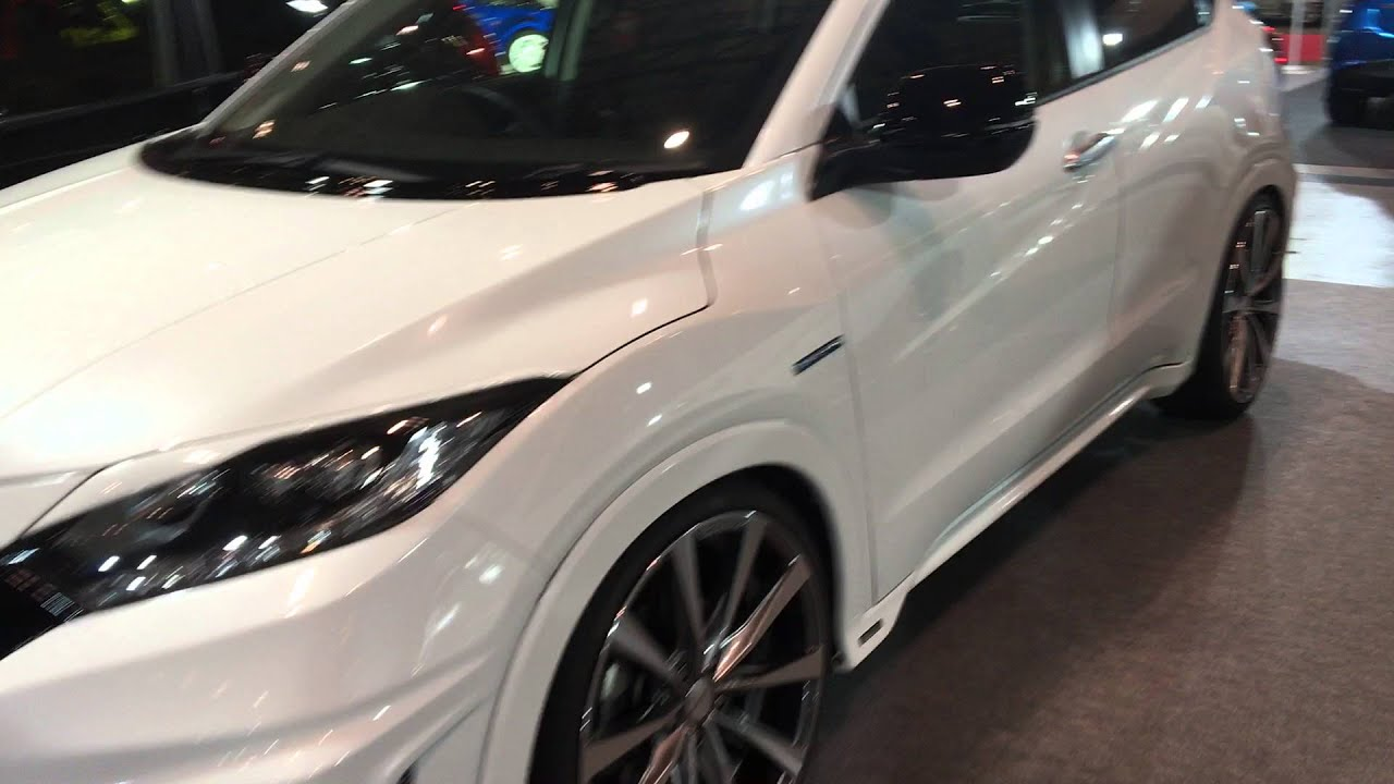 Honda Hrv 2016 Modified >> Honda Vezel / HRV Noblesse at TAS2016 - YouTube
